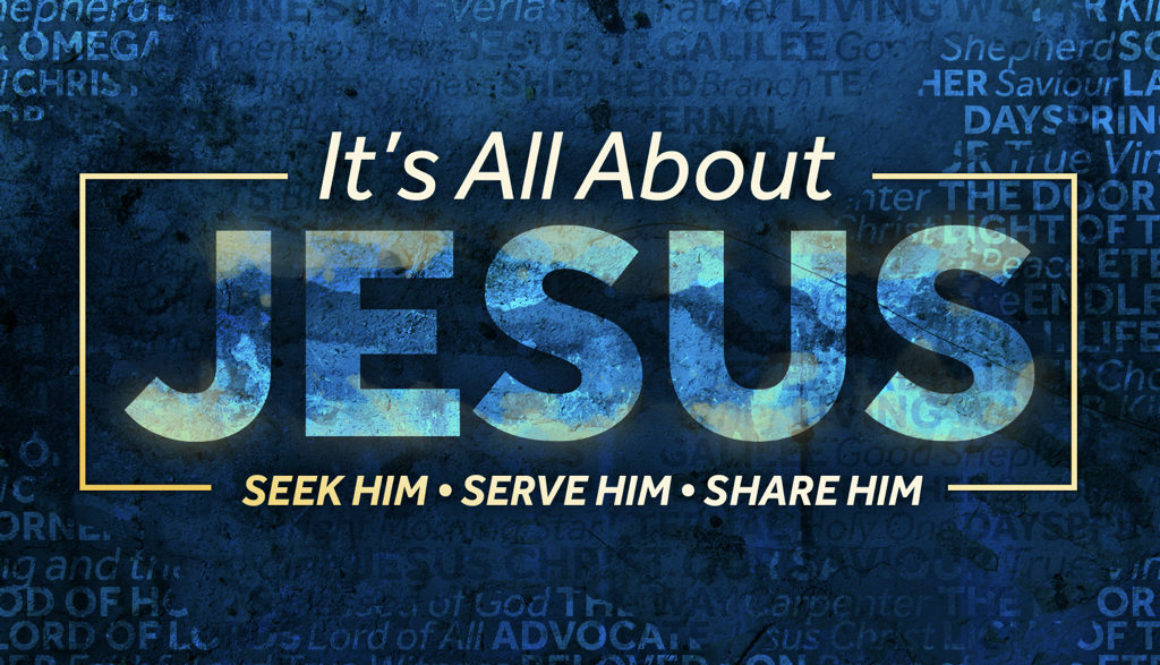 """Sunday November 26, 2017 – """"It's All About Jesus"""" – Pastor Brian Autry"""